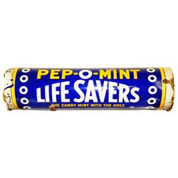 Porcelain Life Savers Store Sign