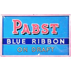 Pabst Blue Ribbon Beer,  Reverse Glass Sign