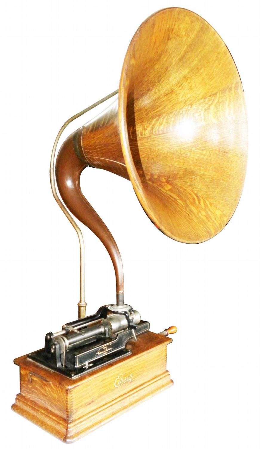 Edison Home Cylinder Phonograph Model E Loading Zoom