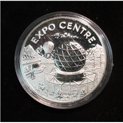 994. 1986 World Expo. Vancouver Canada .999 Silver Proof Medal.