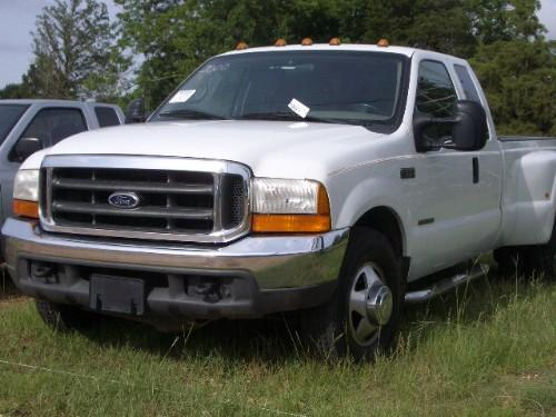 2000 ford f350 xl extended cab dually j m wood auction company inc. Black Bedroom Furniture Sets. Home Design Ideas