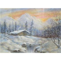 Original Pastel by Eunice Caraway 20  x 26  Image Size (67)