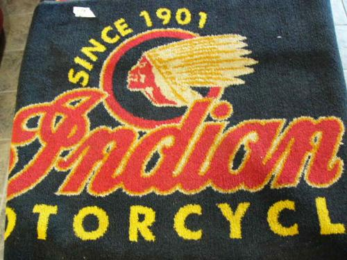 Choice Of 3 Indian Floor Rugs Since 1901 Indian Motorcycle