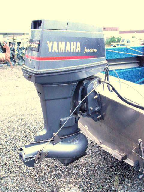 1994 19 foot aluminum river runner hewes craft with 90 hp for Yamaha outboard break in procedure
