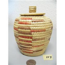 6  Hooper Bay basket by Geraldine Tall (3)