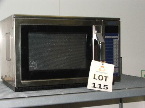 Image 1 Hobart M1600 Tuk Stainless Steel Microwave Oven