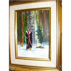 CHOICE on 10 gold framed art: Scott McDaniel (170)