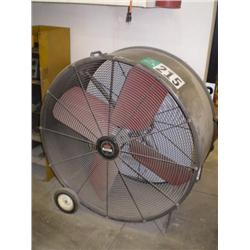 TRIANGLE ENGINEERING HEAT BUSTER TPC4213 PORTABLE SHOP FAN, s/n B99: