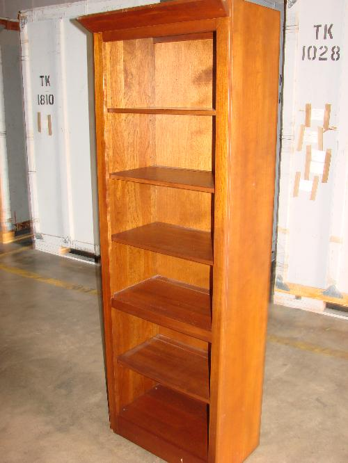 Image 1 Ethan Allen 6 Ft Tall Bookcaseplate Groove Shelf