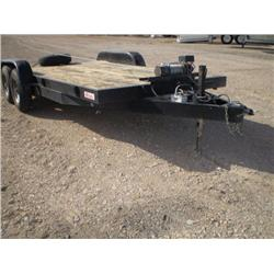 CARSON 20 ft T/A EQUIPMENT TRAILER, s/n 4HXHD18234C079011