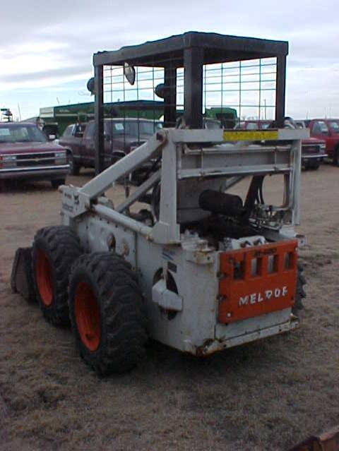 bobcat m600 skid steer loader