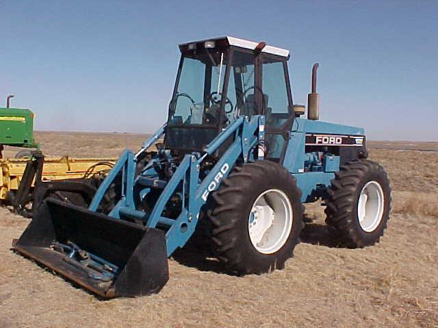 Ford Bi Directional Tractor : Ford n h bidirectional tractor
