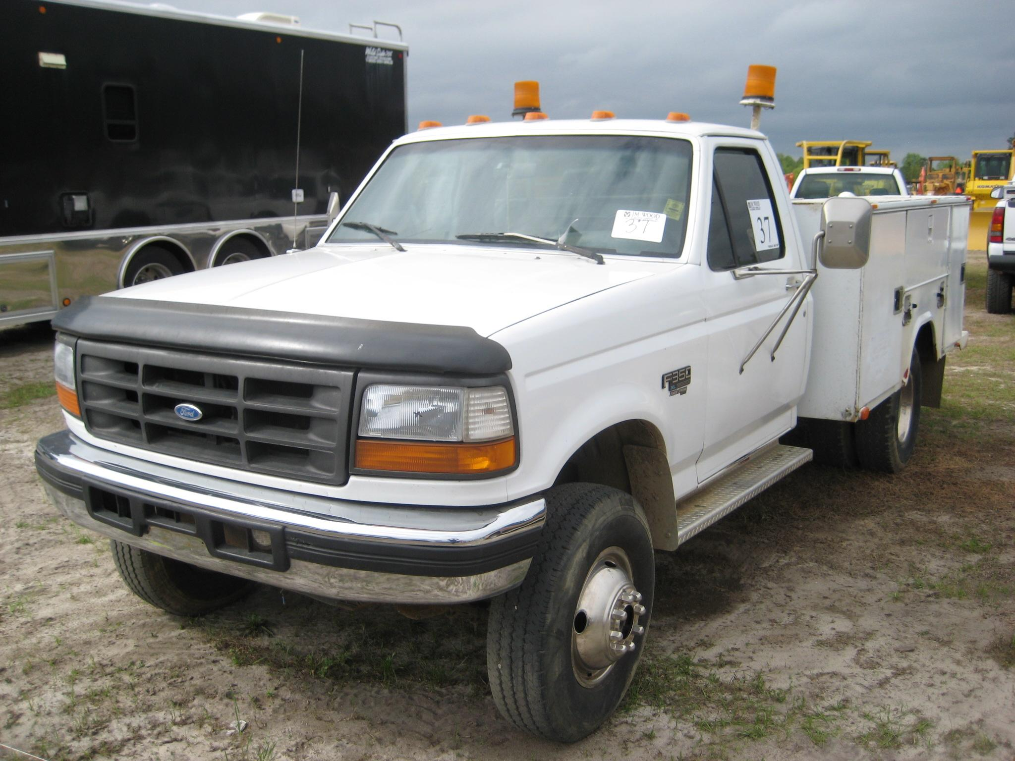1995 ford f350 service truck