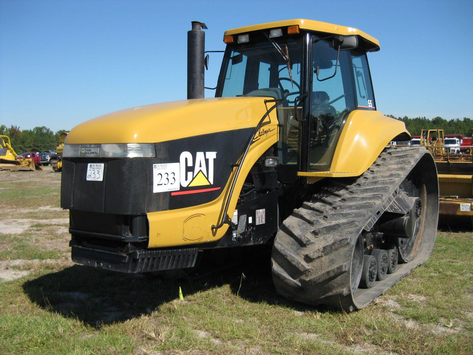 Cat Challenger Tractors : Cat challenger ag tractor j m wood auction company inc
