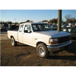 1996 ford f150 extended cab 4x4 pickup j m wood auction company inc. Black Bedroom Furniture Sets. Home Design Ideas