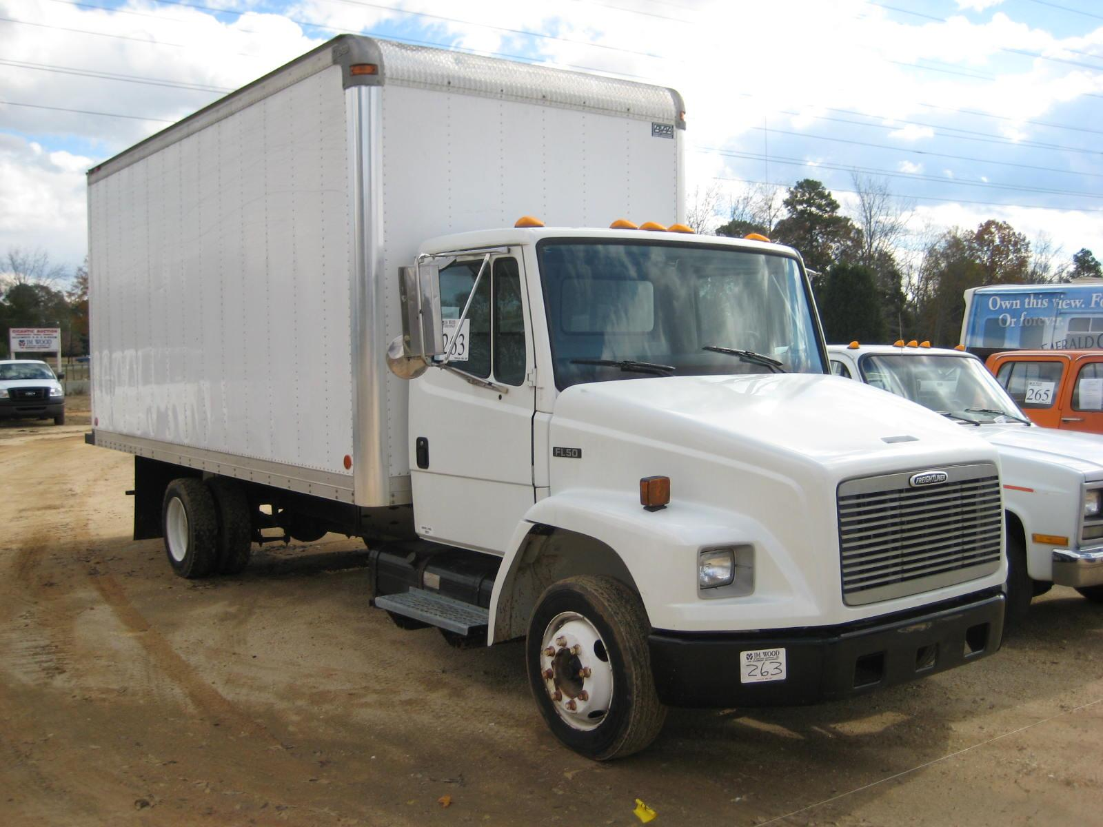 Image 1 1999 freightliner fl50 s a delivery truck sold