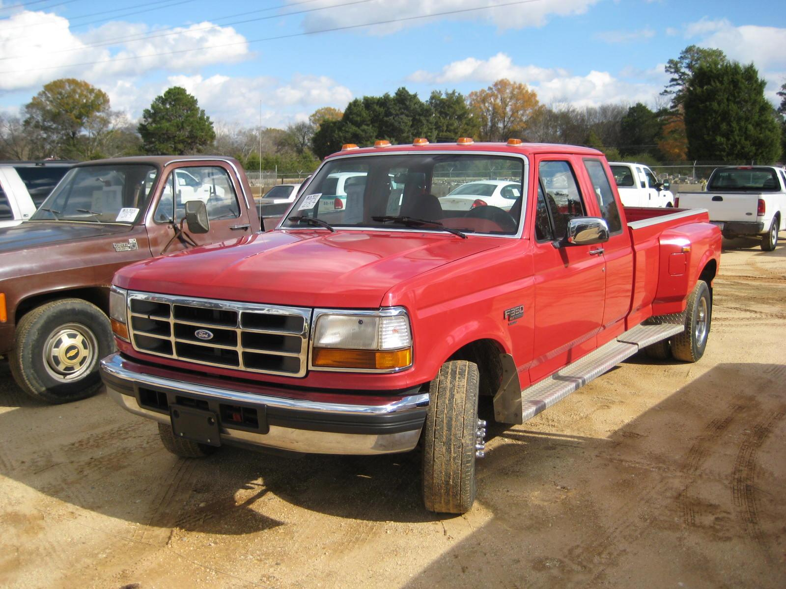 on 1997 F350 Extended Cab