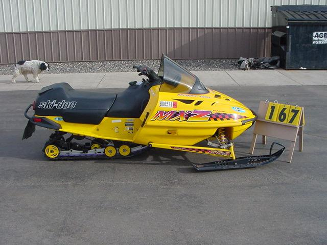 1995 Ski Doo Mxz 470 Manual