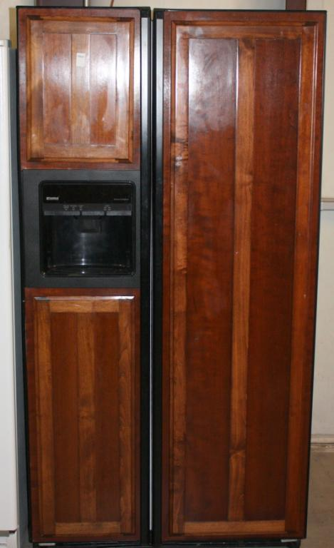 ... Image 2 : Kenmore Side by Side Wood Panel Refrigerator ... - Kenmore Side By Side Wood Panel Refrigerator