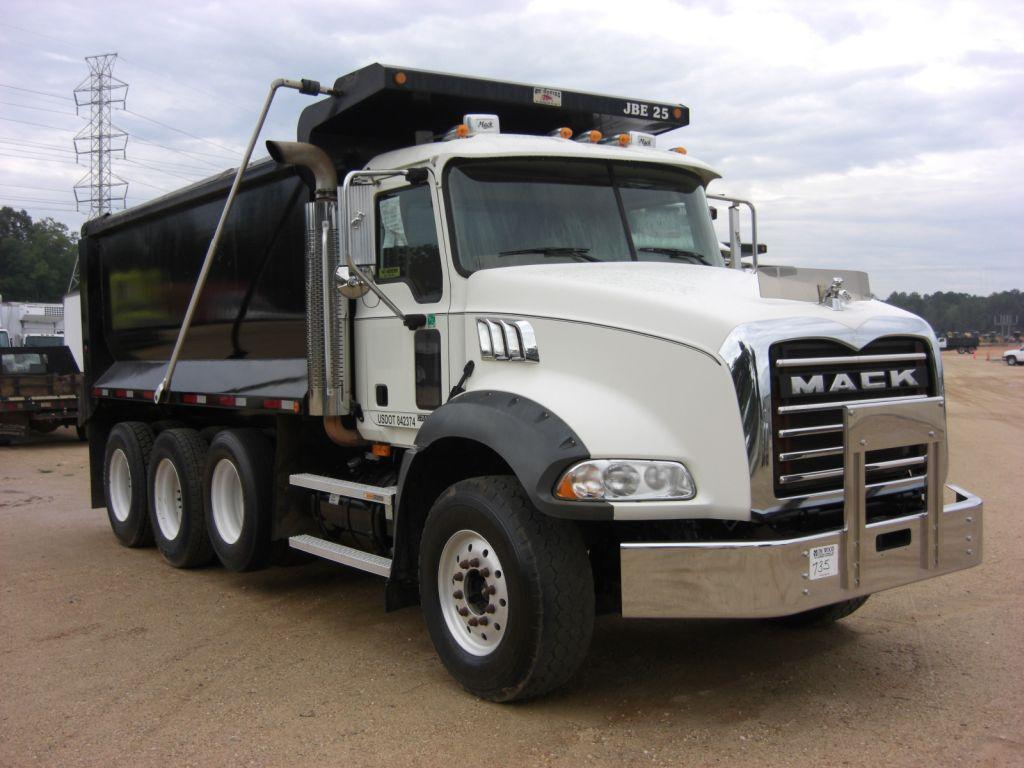 Mack Ct713 Truck Wiring Opinions About Diagram Dump Trailer 2006 Tri Axle Rh Liveauctionworld Com Granite Air Conditioner Problems Chu613