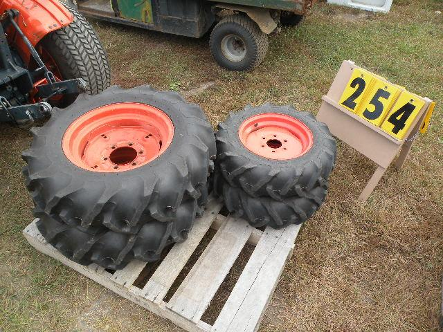 Kubota Wheel Weights : Kubota b hst