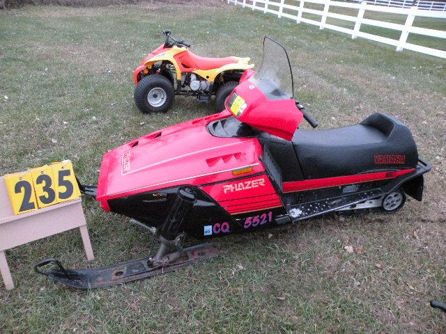 how to start a 1992 yamaha vmax snowmobile