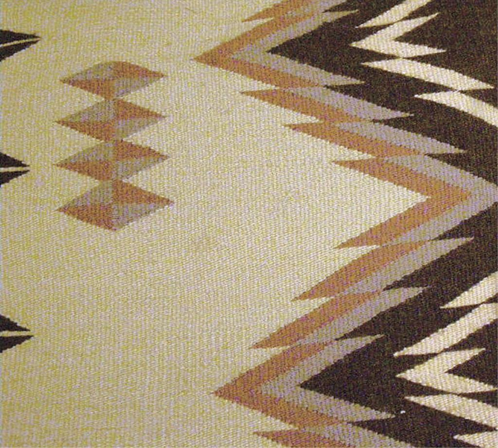 Beautiful Large Native American Ly Woven Rug With Extensive Designs In Rose Grey Brown And Ta
