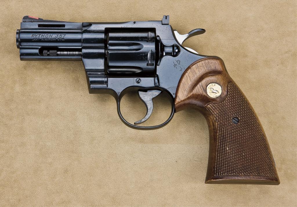 Colt Python Model Da Revolver 357 Magnum Cal Rare 3