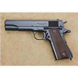 Model 1911A1, .45 ACP caliber, semi-automatic pistol by Ithaca gun company, presentation series with