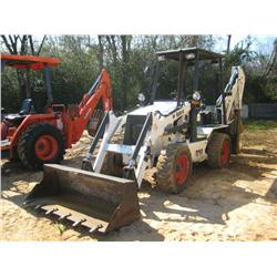 B 250 Bobcat Backhoe http://www.liveauctionworld.com/BOBCAT-B250T-LOADER-BACKHOE_i9315849