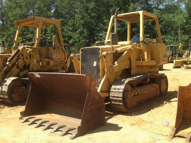 john deere 755 crawler loader. Black Bedroom Furniture Sets. Home Design Ideas