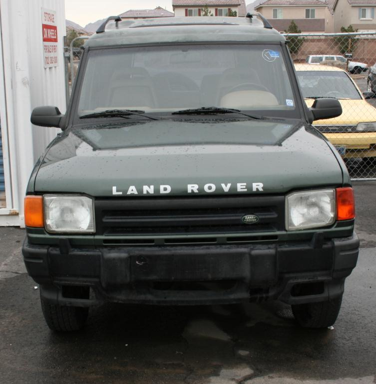 1994 Land Rover Discovery Exterior: 1994 Land Rover Discovery