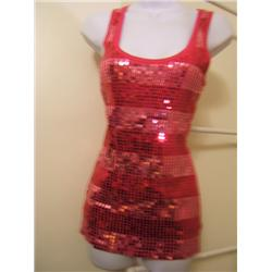 Woman's Brand New Sequin Tank Top