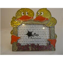 Best Friends Ducky Pewter Frame