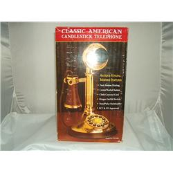 Classic American Candlestick Telephone