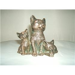 Unique Metal Kitten Trio