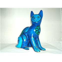 Tall Blue Cat