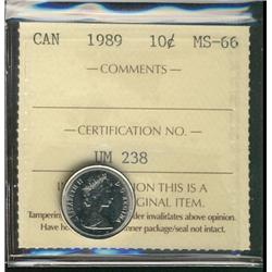 1989 10&#162; ICCS MS66.