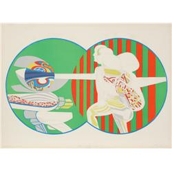 Arnold Belkin, Heart of the World, Lithograph