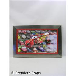 """Cars"" Lightening McQueen Animation on Canvas"
