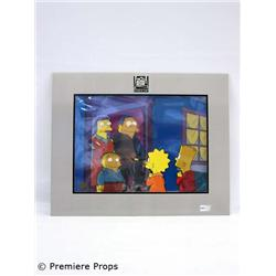 """Simpsons"" Original Hand Painted Cel"