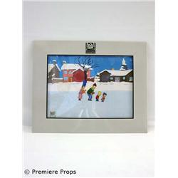 """Simpsons"" Production Cel"