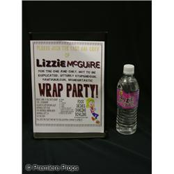 Lizzie McGuire Wrap Party Flyer