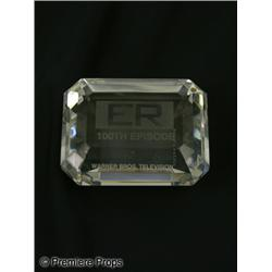 "ER 100th Episode ""Tiffany's"" Crystal Weight"