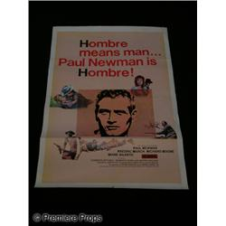 Hombre One Sheet Movie Poster
