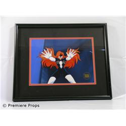 Spiderwoman Framed Animation Cel