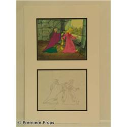 Rapunzel Animation Cels