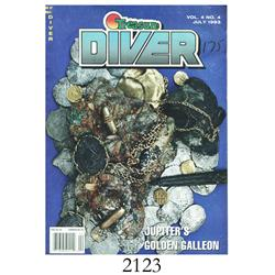 Treasure Diver magazine, Vol. 4 No. 4 (July, 1993), with article  Jupiter's Golden Galleon,  by John