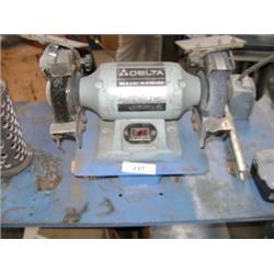 DELTA 23-660 6  BENCH GRINDER AND STAND