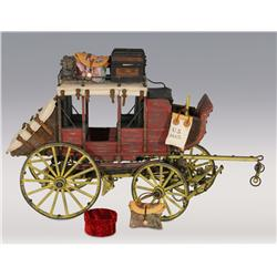 Miniature Reproduction Mud Wagon by Roy Luttrell